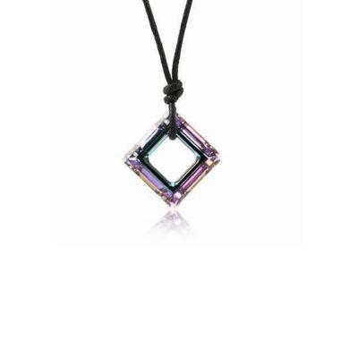 Quadra - Swarovski kristályos - Medál