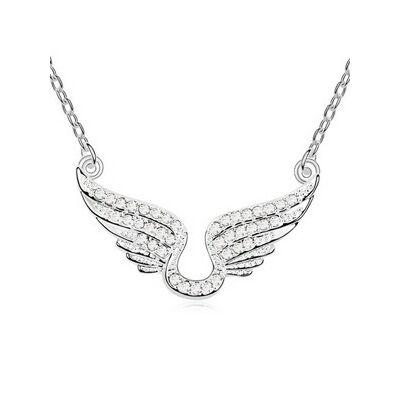 Fehér angyal - Swarovski kristályos nyaklánc
