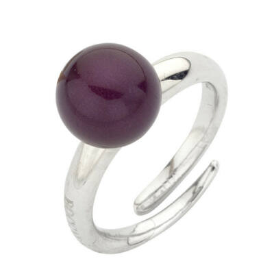 Boccadamo Jewels - Swarovski gyöngy ezüst gyűrű - Mauve