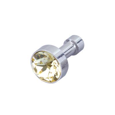 DSE - Swarovski kristályos mobiltelefon-ékszer - borostyán