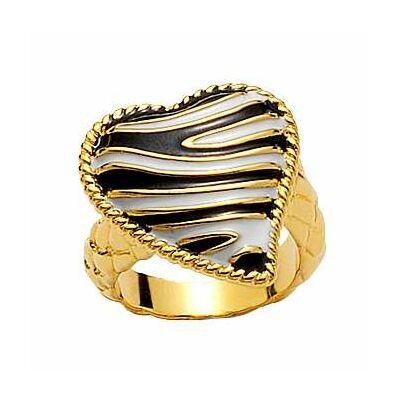 Just Cavalli - ZEBRA collection- gyűrű