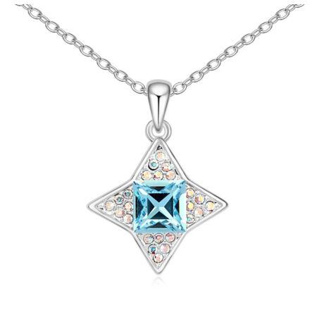 Orion - kék - Swarovski kristályos nyaklánc