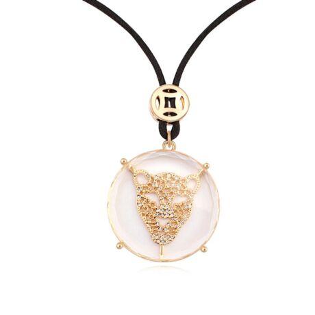 Elegancia - Swarovski kristályos nyaklánc