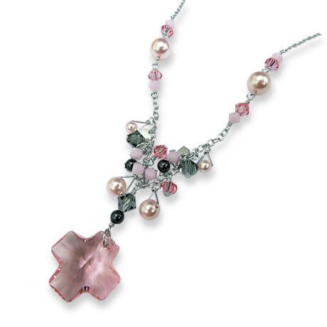 Abelia - ezüst nyakék - rózsaszín