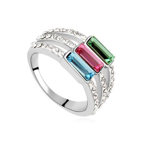 El passo- kristályos gyűrű - színes