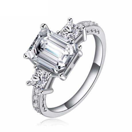 Peniel - cirkóniaköves divatgyűrű - fehér