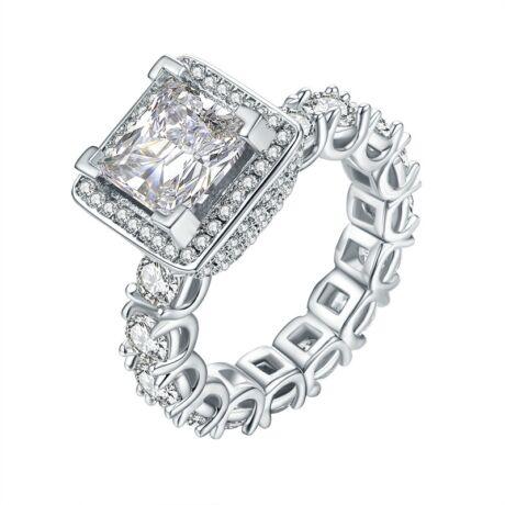 Aronne - cirkóniaköves divatgyűrű - fehér