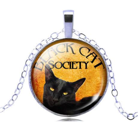 Black cat nyaklánc  1.