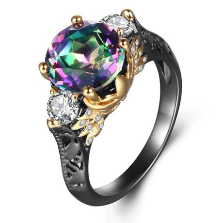 Ékkő - cirkóniaköves exkluzív gyűrű