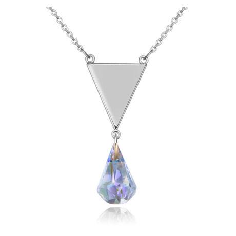 Darling Memorial - Swarovski kristályos nyaklánc - színjátszó fehér