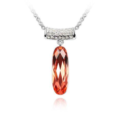 Sweet Grace  - Swarovski kristályos nyaklánc - piros