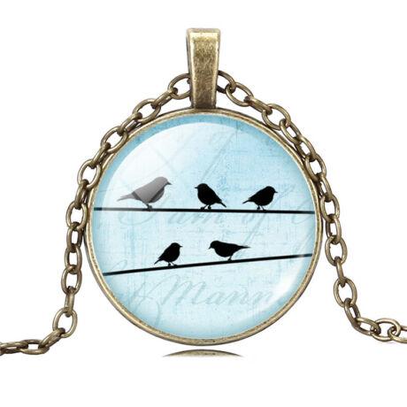 Birdy nyaklánc - bronz - 1.