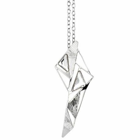 Boccadamo Jewels - bronz nyaklánc-SPICCHI DI LUCE -ezüst - fehér