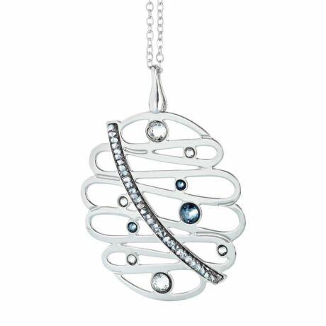 Boccadamo Jewels - bronz nyaklánc-Melodia - ezüst