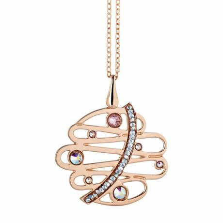 Boccadamo Jewels - bronz nyaklánc-Melodia-rózsaarany
