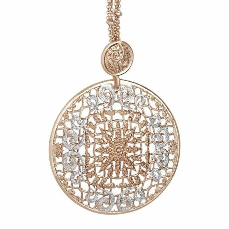Boccadamo Jewels - bronz nyaklánc - Alissa - arany -ezüst