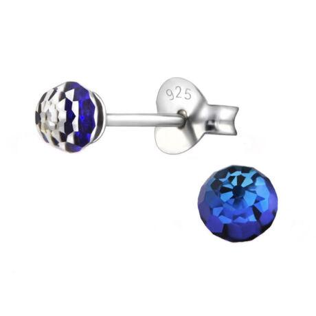 Nigella - Swarovski kristályos fülbevaló - Bermuda Blue - kék
