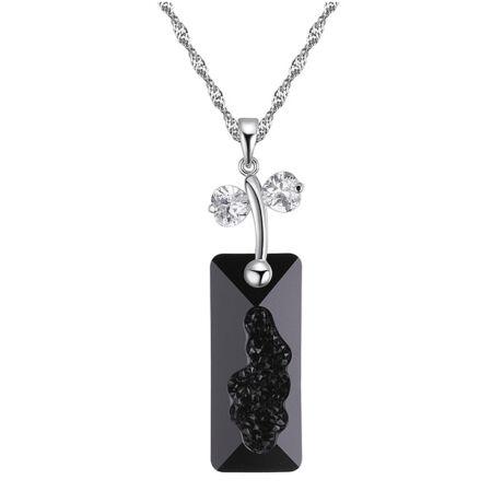 Kami - Swarovski kristályos nyaklánc - fekete
