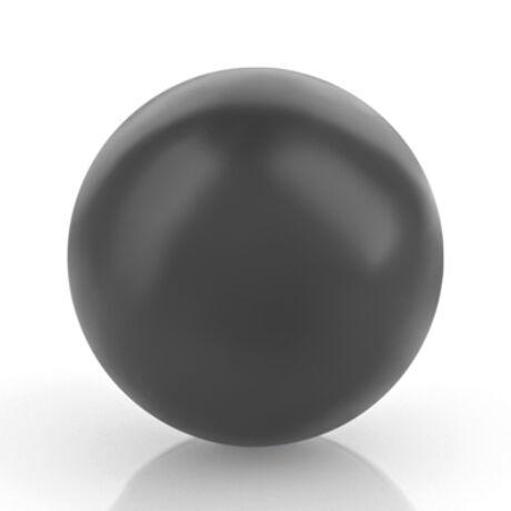 Spirituális angyalhívó gömb - fekete - 16 mm