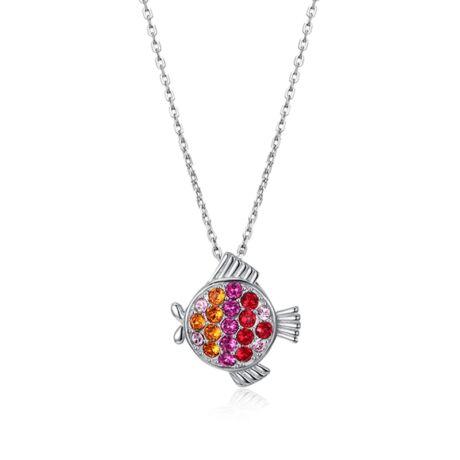 Horoszkóp - Swarovski kristályos nyaklánc- halak
