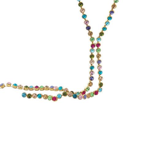 SARA- Swarovski kristályos nyaklánc