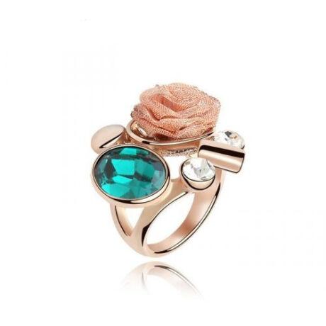 Csipkerózsa -divatgyűrű