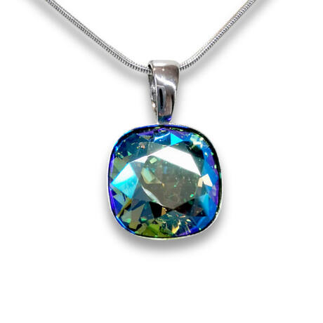 Remény - Swarovski kristályos ezüst nyaklánc