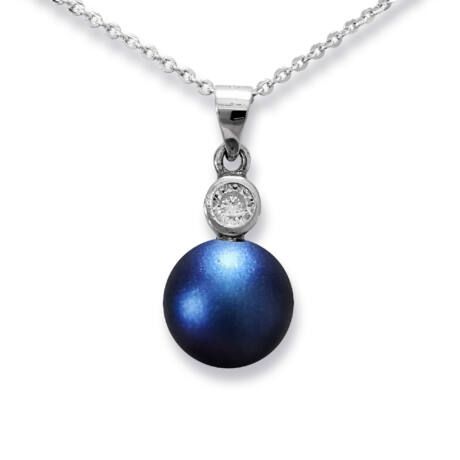 One pearl - Swarovski gyöngyös ezüst nyaklánc