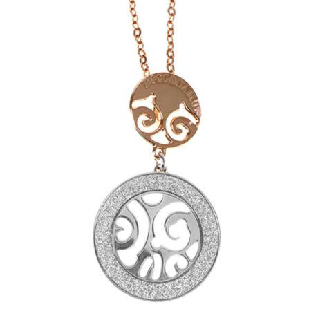 Boccadamo Jewels - 2 színű bronz  nyakék -Lumia