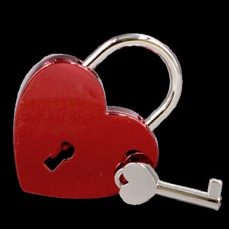 Gravírozható szerelemlakat -piros