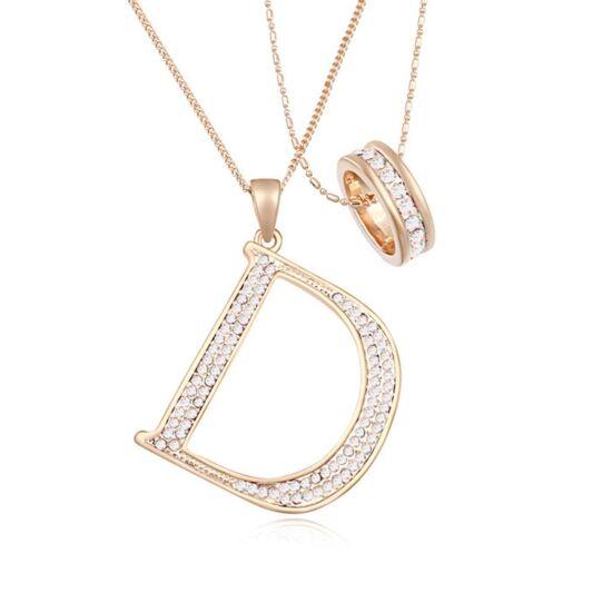 Fashion- fehér-Swarovski kristályos - nyaklánc