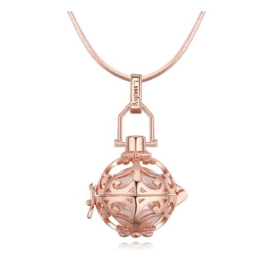 Angyalhívó 2. -Swarovski kristályos nyaklánc-rózsaarany